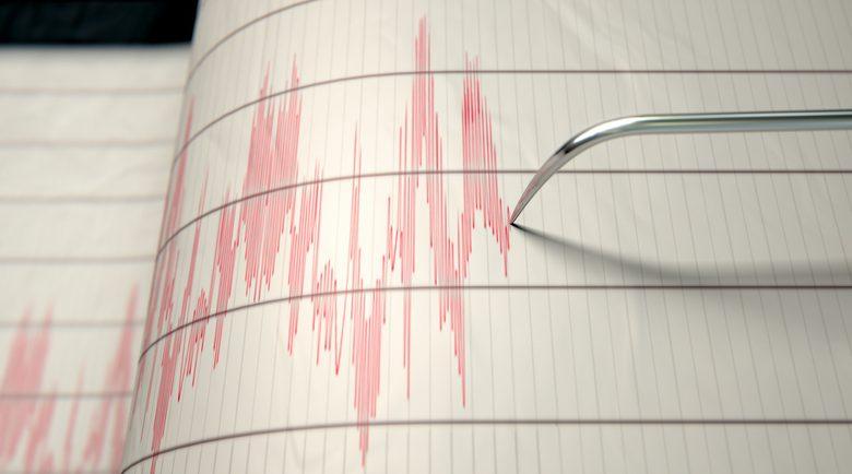 """מרכז רעידת האדמה 9 ק""""מ דרום מערבית לחיפה. צילום: גטיאימג'ס"""