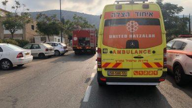 Photo of בן 70 נפגע מרכב בחיפה ונפצע באורח בינוני
