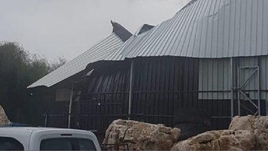 "Photo of אסון נמנע במועדון ""איביזה"" בק. חיים. בזכות סרוב המשטרה למתן רישוי עסק למקום, נמנעה פגיעה ברבים בעקבות קריסת גג המועדון אתמול"
