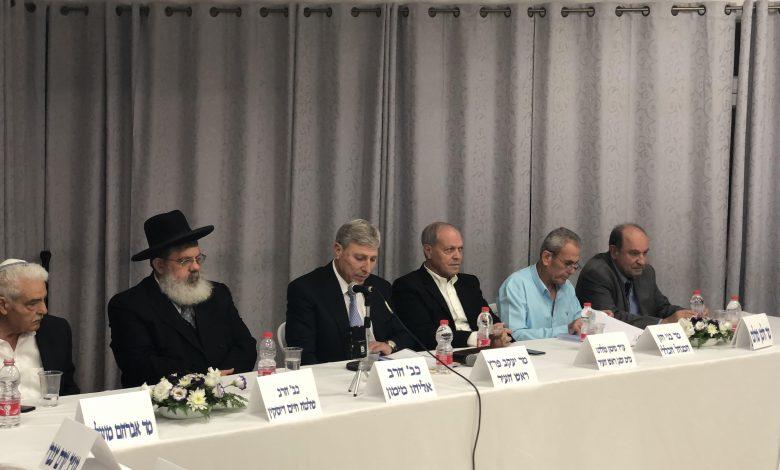 Photo of ישיבת מועצת עיר ראשונה בקרית אתא
