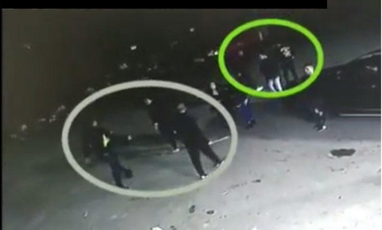הצעירים בתקיפה של נער - קרובן חף מכל פשע. צילום: דוברות המשטרה