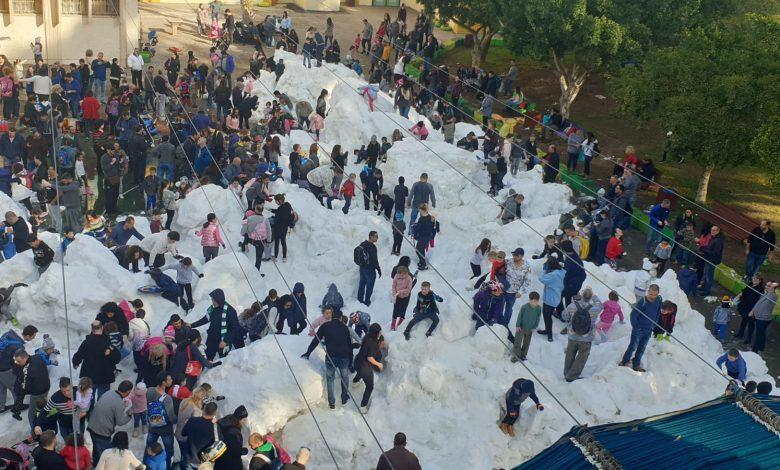 הפנינג של הורים ילדים ותושבים מכל האזור. צילום: עיריית ק. ביאליק