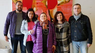 Photo of עולים חדשים מנשר לומדים עברית באוניברסיטה