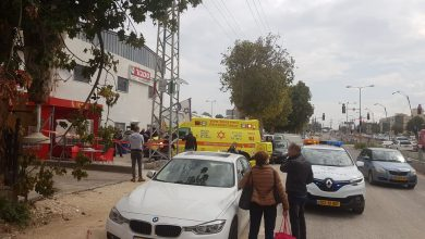Photo of ירי ברחוב בן יהודה בנשר. מהמקום פונו שני פצועים במצב בינוני
