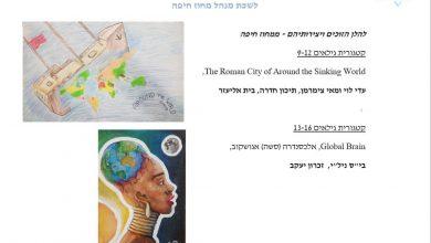 """Photo of """"גיאוגרפיה-אדם וסביבה"""" ו""""מולדת, חברה ואזרחות"""" – תחרות מפות לילדים ע""""ש ברברה פטצ'ניק"""