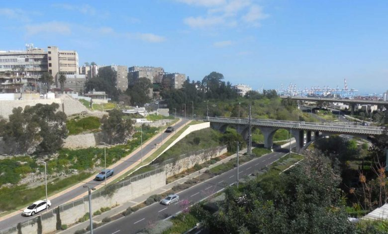 Photo of נפתח הכביש המחבר בין רחוב הרצל לדרך נחל הגיבורים בחיפה