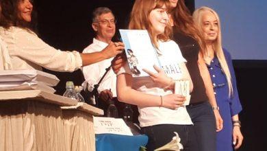 Photo of תלמידה מנשר זכתה במקום ה-3 בחידון הציונות המחוזי