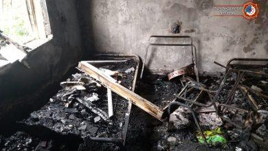 Photo of חילוץ של דיירים ופינוי בשריפה גדולה שפרצה בבניין מגורים הבוקר ברחוב גיורא בקריית ביאליק