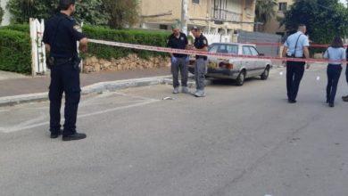 הזירה בה נמצא הגבר שמאוחר יותר נקבע מותו. רחוב גורדוניה. צילום: דוברות המשטרה