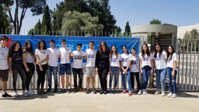 """Photo of תלמידי אורט דפנה עמדו באתגר בשביל עמותת """"אתגרים"""""""