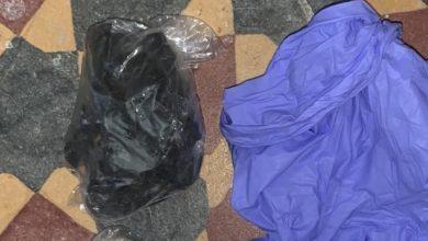 השקיות סמים שנתפסו במקום. צילום: דוברות המשטרה
