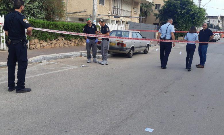 הרכב בו דקר למוות את יוסף שמילוביץ. צילום: דוברות המשטרה