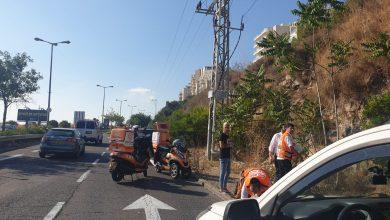 Photo of תעלומה: גבר כבן 40 חולץ ממדרון הר אליו נפל ברחוב יעקוב דורי בחיפה. מצבו בינוני