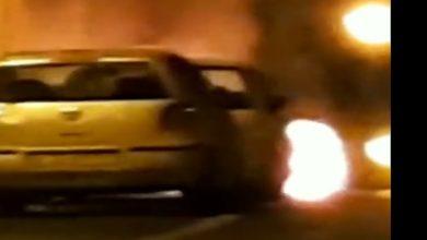 שוב הצתת רכבים הלילה בנשר. מלחמת עולם הפשע ברחובות. צילום: פייסבוק