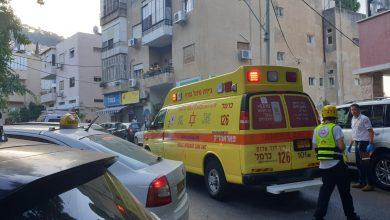 Photo of רוכב אופניים נדקר ברחוב מסדה בחיפה, במהלך רכיבה. מצבו קשה
