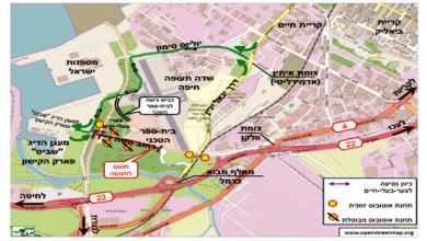 Photo of נהגים, שימו לב: מהשבוע יתקיימו הסדרי תנועה חדשים בכביש 22 ובכביש משה דיין