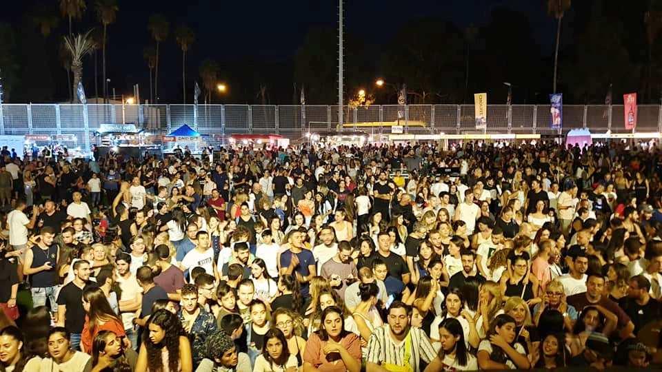 אלפים בפסטיבל הבירה הראשון בנשר. צילום: פייסבוק רועי לוי