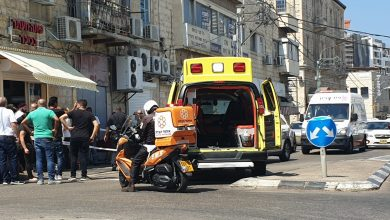 Photo of חשד לניסיון חיסול לפני זמן קצר בקיבוץ גלויות בחיפה: גבר כבן 45 נורה, מצבו בינוני