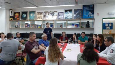 Photo of תלמידי נשר פותחים את השנה השנייה בתכנית הייחודית space lab, במסגרת קרן רמון