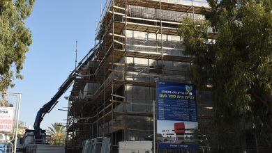 """Photo of הסתיים השלב הראשון בעבודות הקמת מבנה חדש לבית הספר """"נועם"""" בקריית אתא"""