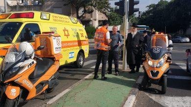 זירת התאונה בה נפגעה הפעוטה בת ה-4. צילום: איחוד הצלה