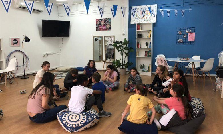"""מועדון הילדים """"יחד- בשביל הלב"""" מהווה מוקד פעילות שכונתי לילדי צור שלום. צילום: עיריית ק. ביאליק"""