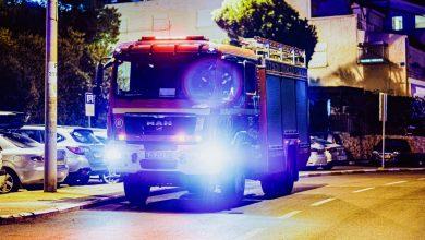 Photo of ליל שריפות בחיפה והקריות בכמה מוקדים. בין היתר בהדלקת מדורה ברחוב