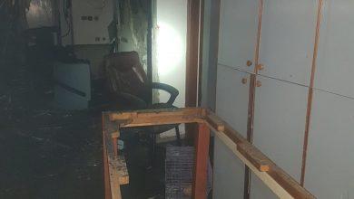 Photo of שריפה פרצה בבית אבות ברחוב סירקין בחיפה, כוחות הכיבוי חילצו מן המקום אדם אחד. לא ידוע על נוספים