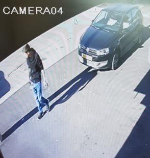 תמונה כללית של הרכב והנהג החשוד במעורבות בתאונה