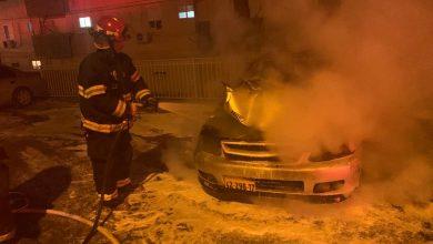 Photo of ממשיכה מסכת הצתת הרכבים והאיומים: הלילה הוצתו שלושה רכבים ברחוב הרצוג בקריית אתא