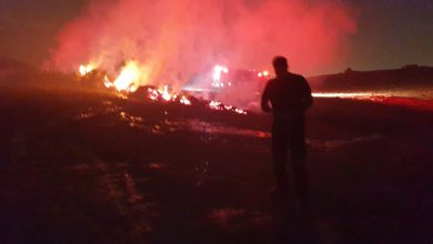 Photo of עשרה צוותי כיבוי פועלים בשריפת חורש גדולה המאיימת על בתים בשכונות בטבעון
