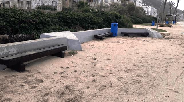 ארגז חול. טיילת בת גלים. צילום שלומי תמים