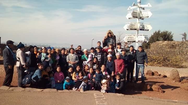 מטיילים עם בני המנשה. נשר. צילום עיריית נשר
