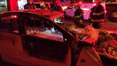 Photo of שוב- חשד להצתת רכבים הלילה בקריית אתא. המקרה השלישי בתוך חודש