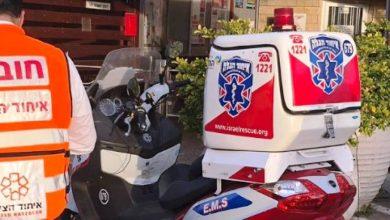 Photo of שליח פיצה בן 18 נפצע בינוני בתאונה בשדרות קיש בחיפה