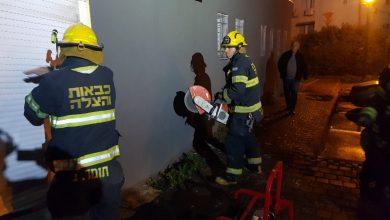 Photo of צוותי כיבוי פעלו לכיבוי שריפה במועדון ספורט הלילה ברחוב משה מרדכי בטירת כרמל. החשד: המקרר גרם לשריפה