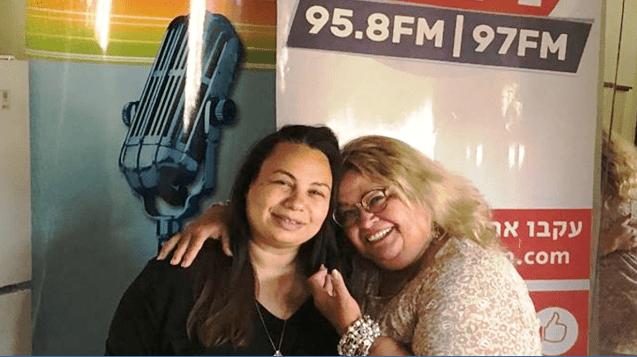 ריקי קיטרו ואמירה בוזגלו צילום יוסי קיטרו