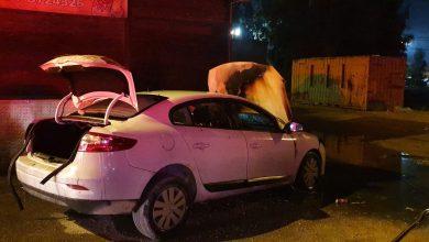Photo of שוב הצתת רכבים הלילה בקריית אתא. הפעם ניזוקה גם מסעדה סמוכה ברחוב התעשייה