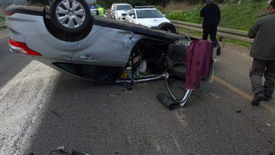 Photo of תאונה קשה בכביש 4 סמוך לקיבוץ החותרים, בין רכב פרטי למשאית