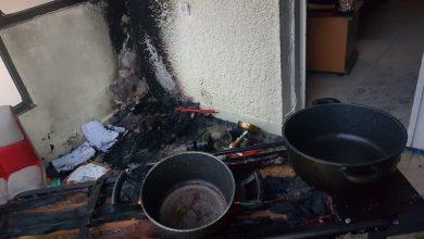 Photo of שריפה בדירה ברחוב הרצל בחיפה, בשל סיר שנשכח על הגז. מהמקום חולצה ילדה