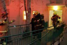 Photo of שריפה בבניין ברחוב כרמי בחיפה רשמה דרמה, כשבתחילה דווח כי אחד מהדיירים הלכודים באש, הוא חולה בקורונה