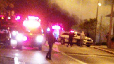 Photo of צפו בסרטון: שריפה ברחוב הגליל בנווה שאנן בחיפה, כוחות גדולים במקום