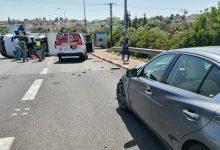 Photo of מסימני החזרה לשגרה: תאונה קשה בכביש 75 בין משאית ורכב