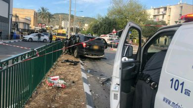 "Photo of ניסיון לחיסול בטירת כרמל: שני תושבי טירת כרמל נפצעו מפיצוץ הרכב ברחוב הלח""י"