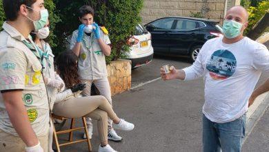 """Photo of נר לזכרם. תלמידי בית ספר """"אילנות"""" בחיפה במחווה יפה לרגל יום הזיכרון לשואה ולגבורה"""