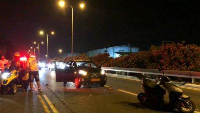 Photo of ערב רע: שתי תאונות קשות בהן מעורבים אופנועים