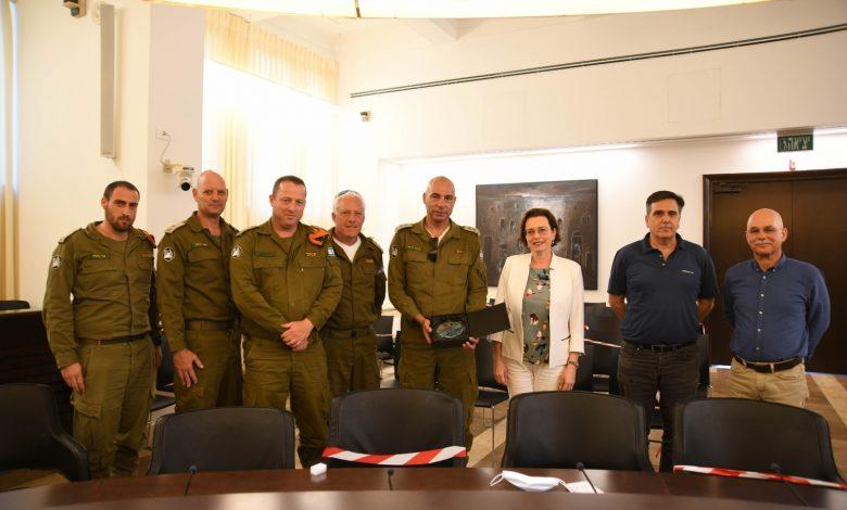 """Photo of מפקד מחוז חיפה בפיקוד העורף: """"המספר הנמוך של חולי קורונה בחיפה אינו מקרי"""""""