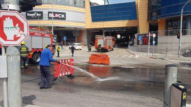 Photo of שינויי תנועה בלב המפרץ ורחוב ההסתדרות בחיפה, בעקבות חומרים מסוכנים שנשפכו ממשאית