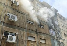 Photo of דרמה בשריפה בבניין ברחוב בן עזרא בחיפה: חילוץ דיירים שנותרו לכודים, בהם חמישה ילדים