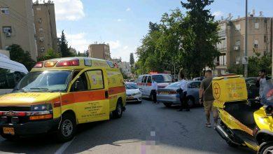 Photo of הולך רגל בן 80 במצב אנוש לאחר שרכב פגע בו בדרך יד לבנים בחיפה